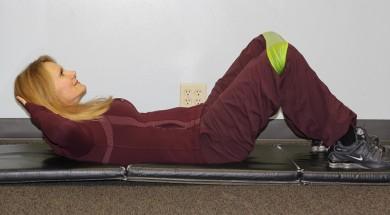 Ćwiczenia - brzuszki