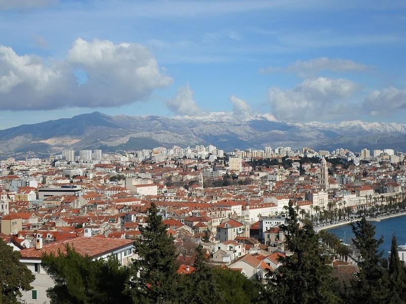 Split - panorama miasta