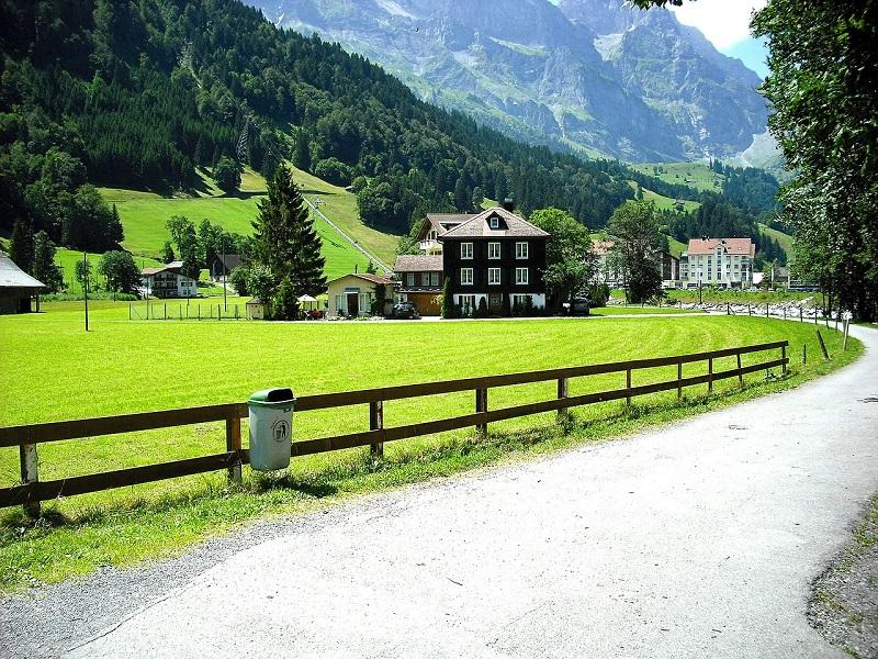 Szwajcarska wieś