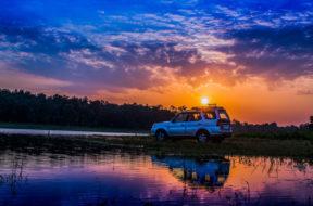 Upały i burze - jak sobie radzić za kierownicą
